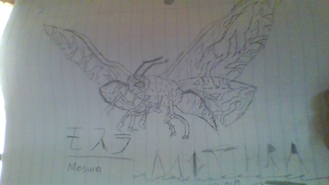 My King Of The Monster Drawings Godzilla Forum